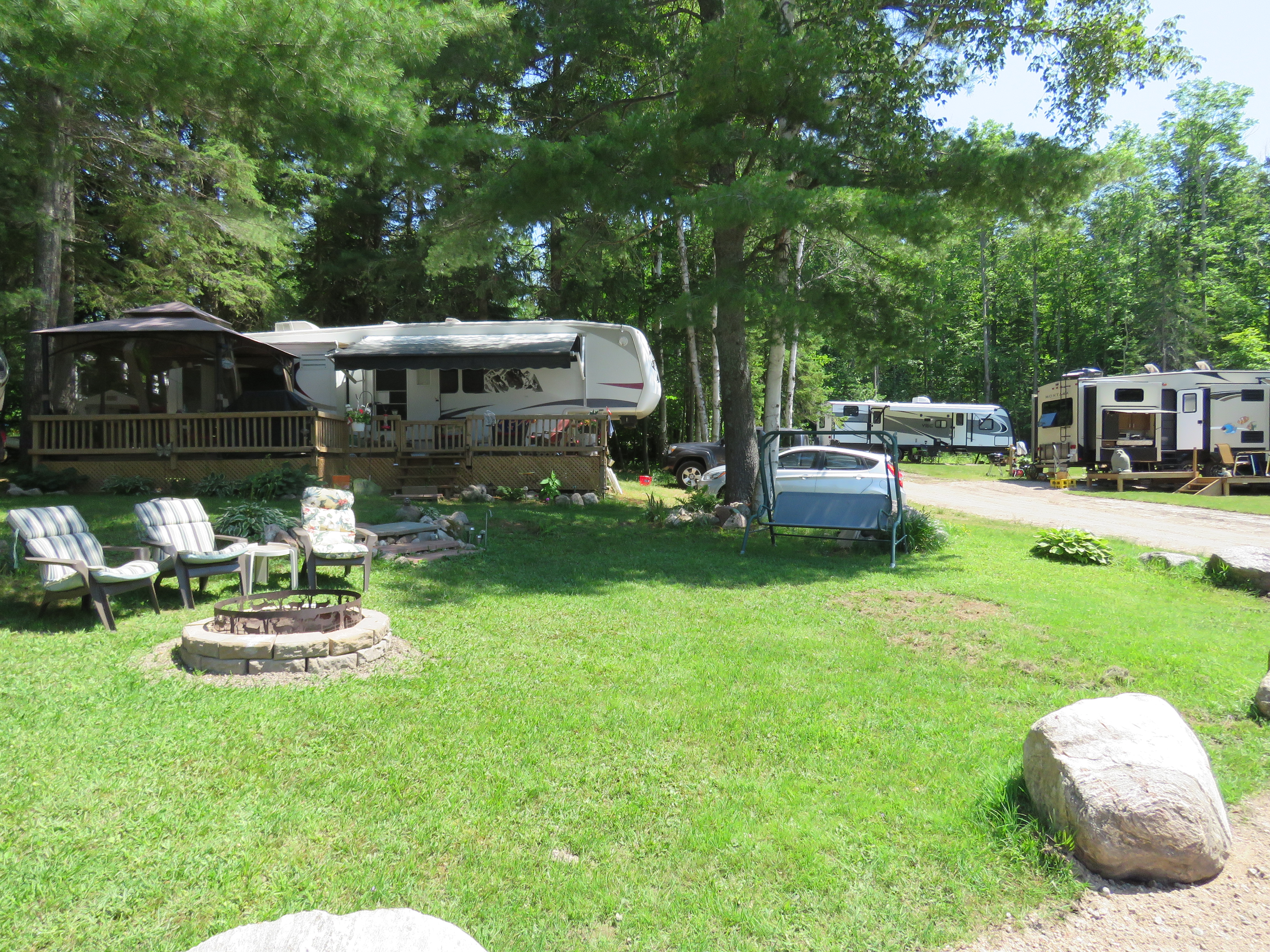 """The """"Do It All"""" Camping Experience at Booth Landing Camping & Cottages"""